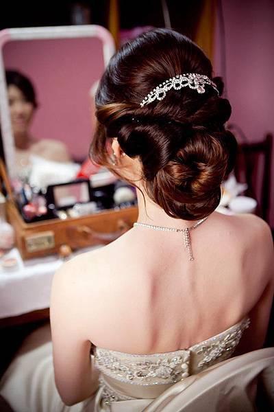 新娘髮型/新娘造型【推薦】華麗盤髮5