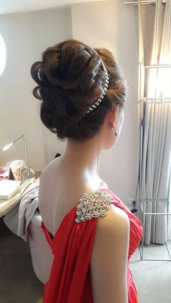 新娘髮型/新娘造型【推薦】(001)-