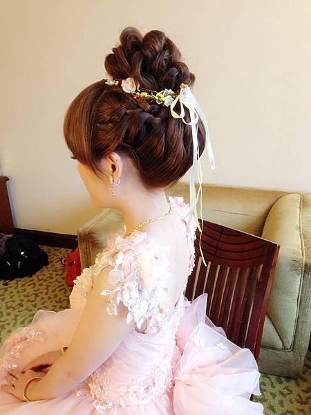 新娘髮型/新娘造型【推薦】(002)-