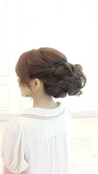 新娘髮型/新娘造型【推薦】(004)-