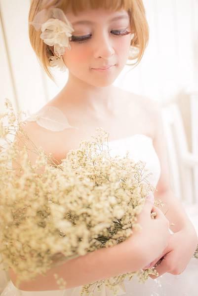 新娘造型參考-推薦短髮造型