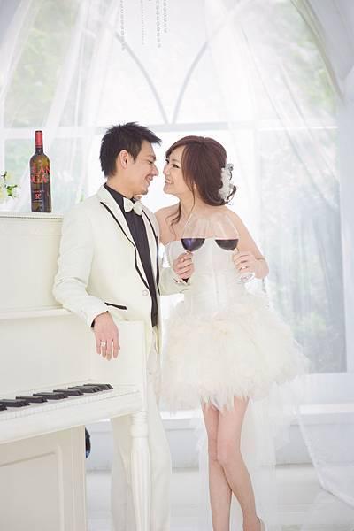 [分享]新娘造型推薦:自助婚紗