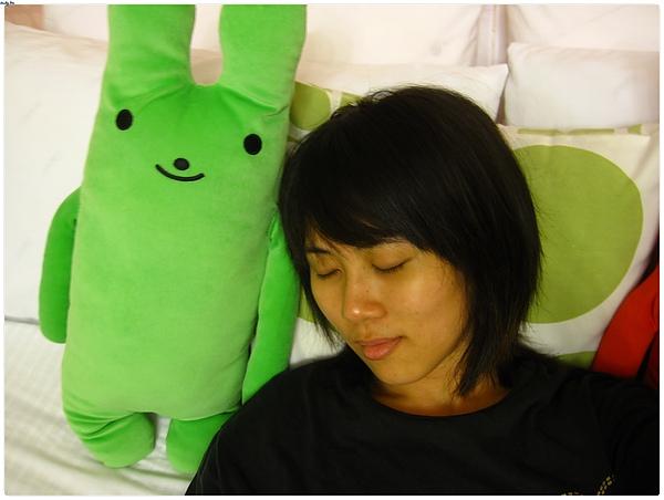 小綠兔陪我睡