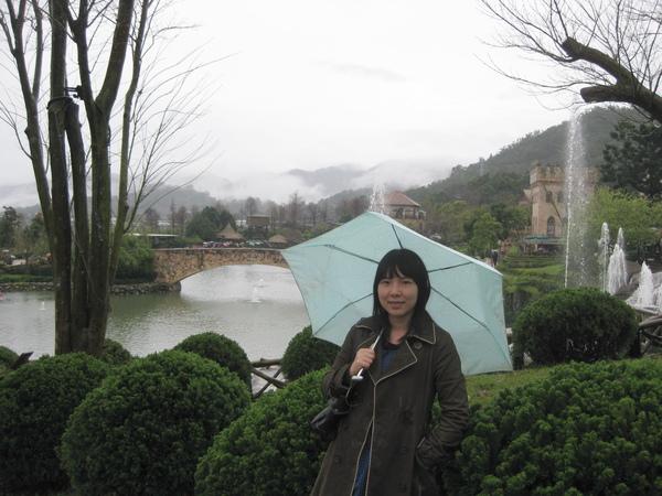 下雨的天氣阿!