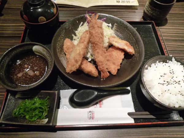海鮮炸物定食