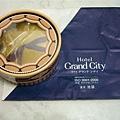 池袋Grand City Hotel送的粉撲小禮盒(不過我用不到...)