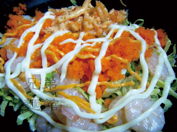 什錦海鮮拌麵