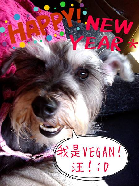 Vegan祝大家新年快樂!