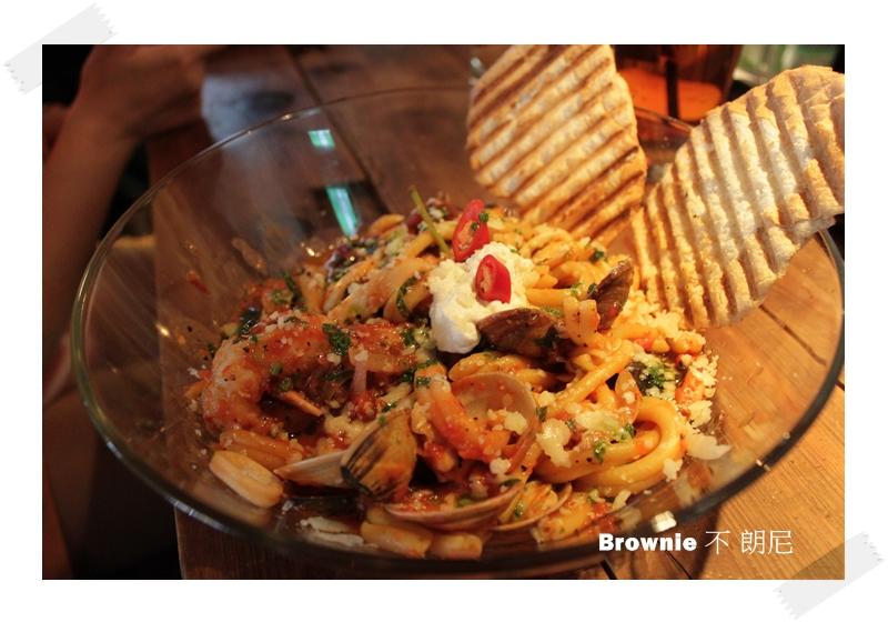 地中海海鮮義大利麵