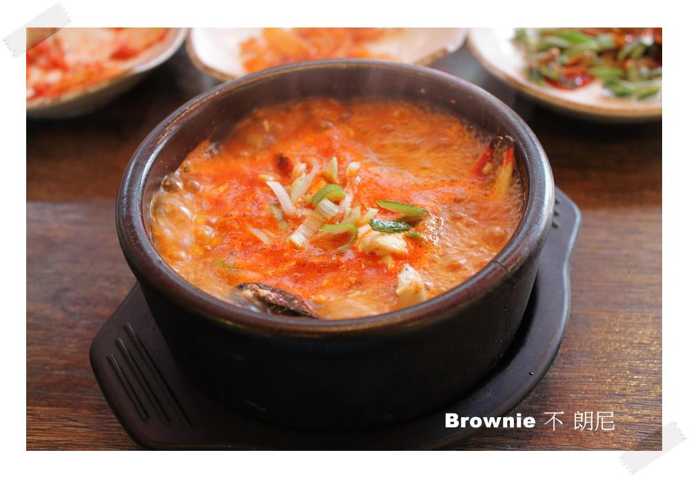 新村豆腐煲 soft tofu stew steamd kimchi