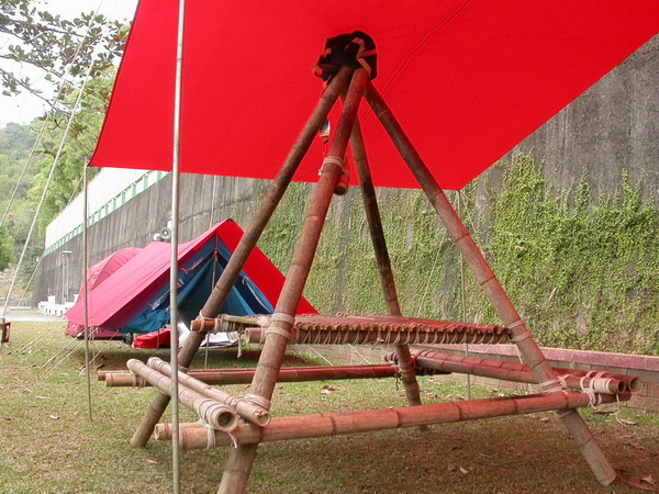 [ 營地工程 ] 四角餐桌 ( 一 )