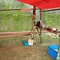 [ 營地工程 ] 高架灶與流理台