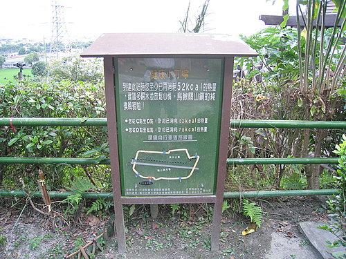關山自行車道一景13 --- 貼心小叮嚀 告訴您已經消耗多少熱量.jpg