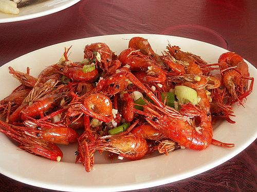 美味的中餐 --- 溪蝦 鹹香酥脆 真的是好好吃喔.jpg