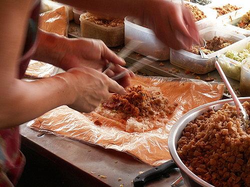 滿滿的肉鬆加菜脯 造就了絕佳好味道.jpg