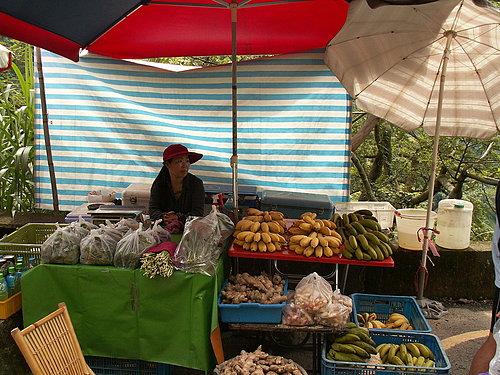 看到這一個攤位 代表樟腦寮到了 芭蕉好吃又便宜(1串大約30元).jpg