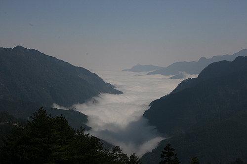 接下來 就是山區最常出現的山嵐景象  雲河.jpg