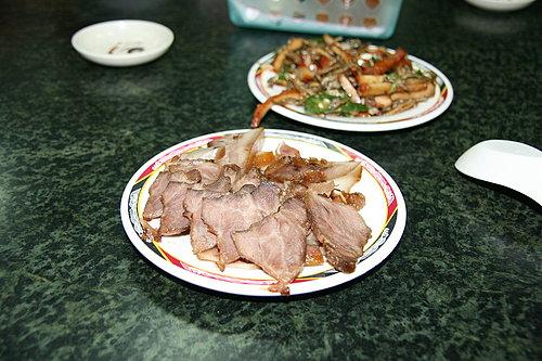 美味的晚餐 -- 豬頭肉.jpg