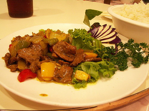 晚餐 (帝侖飯店) ---- 咖哩豬肉.jpg