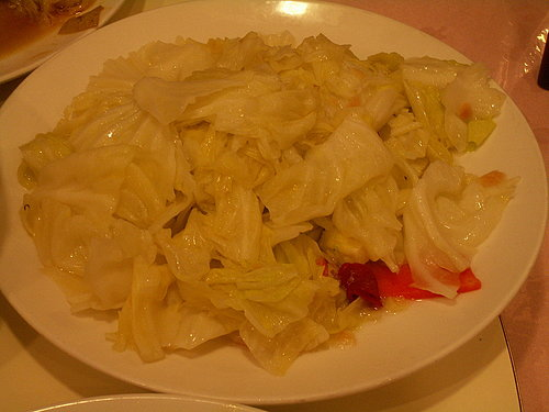 晚餐 (帝侖飯店) ---- 炒高麗菜.jpg