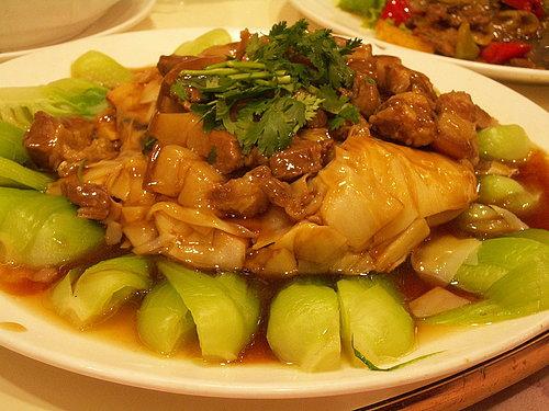晚餐 (帝侖飯店) ---- 爌肉 筍絲.jpg