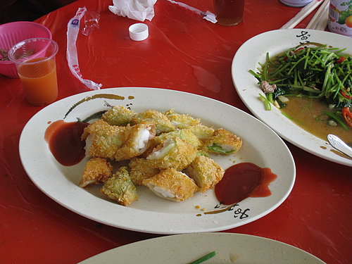 碧湖休閒觀光茶園美味中餐 --- 酥炸龍蝦肉.jpg