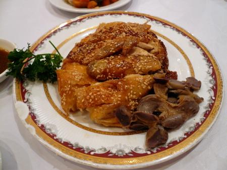太湖海鮮城之招牌鹽焗雞