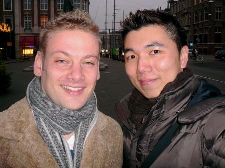 Eric & I in Den Haag