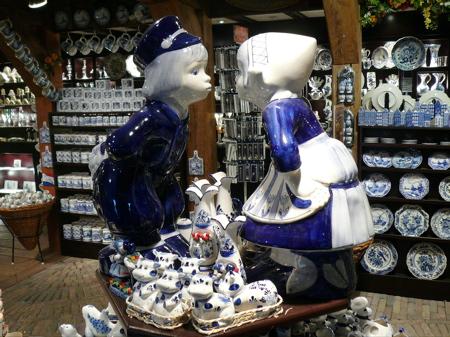 台夫特藍瓷器
