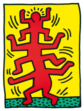 Keith Haring Growing