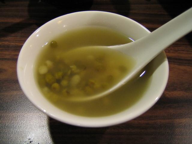 餐後甜點 - 綠豆湯
