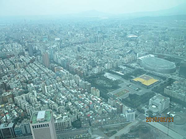 遠眺台北城