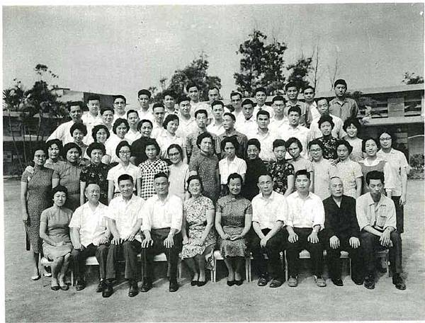 民國50年老師合影
