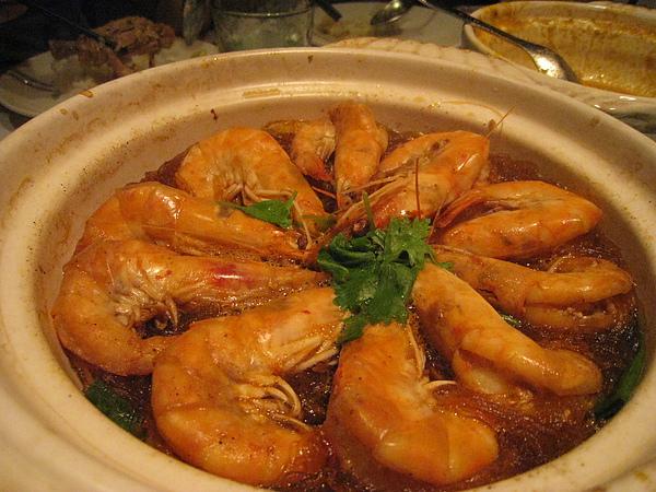 冬粉鮮蝦煲