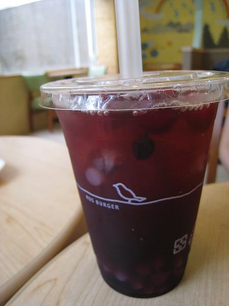 蔓越莓蒟蒻冰茶