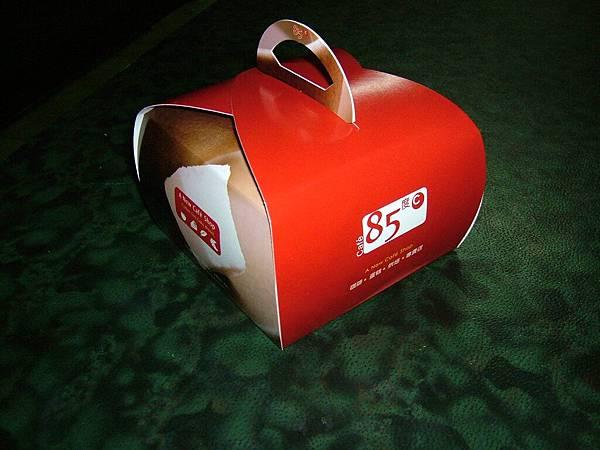 蛋糕的盒子