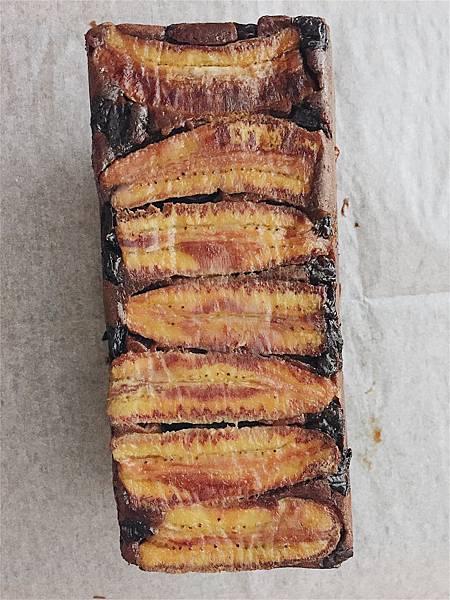 2018_102 香蕉蘭姆葡萄乾。巧克力麵糊.jpg
