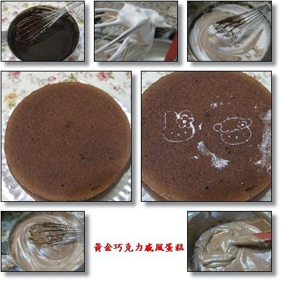 cats~黃金巧克力戚風蛋糕