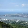 眺望淡海新市鎮
