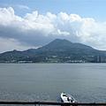 觀音山 from淡水