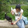給puppy喝水