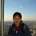 東京都庁上的觀景台