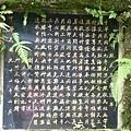 天王廟解說碑