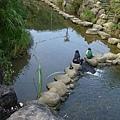 內溝溪親水設施