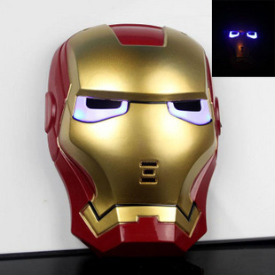 LED鋼鐵人頭盔