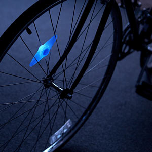 LED單車輪燈