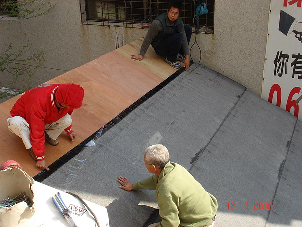 1F增建日式文化瓦鋪設防水毯3.JPG