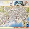 旅客中心牆上的地圖