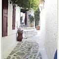 Naxos的小巷