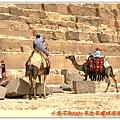這是拉人騎駱駝的小販